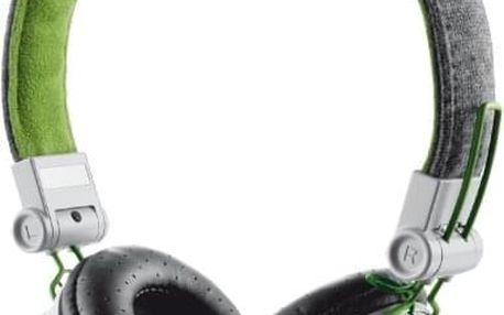 Sluchátka Trust Fyber šedé/zelené (20080)