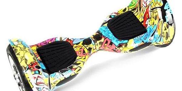 Hoverboard Eljet Offroad E1 - graffiti2