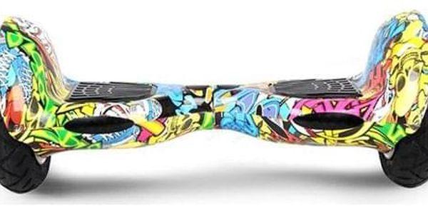 Hoverboard Eljet Offroad E1 - graffiti3