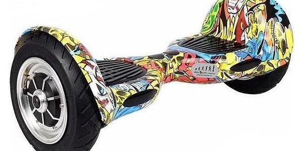 Hoverboard Eljet Offroad E1 - graffiti4