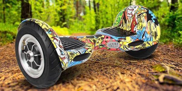 Hoverboard Eljet Offroad E1 - graffiti5