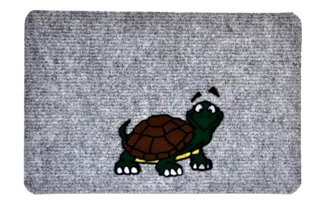 Vopi Vnitřní rohožka Flocky želva 205/067, 40 x 60 cm