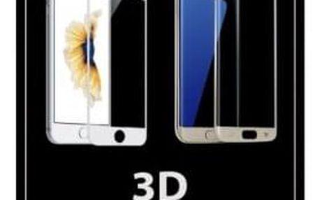 Tvrzené sklo 3D pro Xiaomi Mi A1, bílá, ROZBALENO