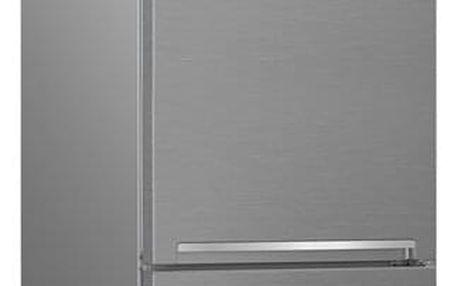 Chladnička s mrazničkou Beko RCNA 406 E40ZXB stříbrná