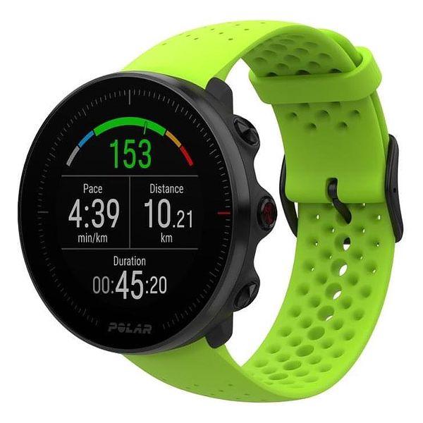 GPS hodinky Polar Vantage M - zelené, černý řemínek zdarma (90075954)2
