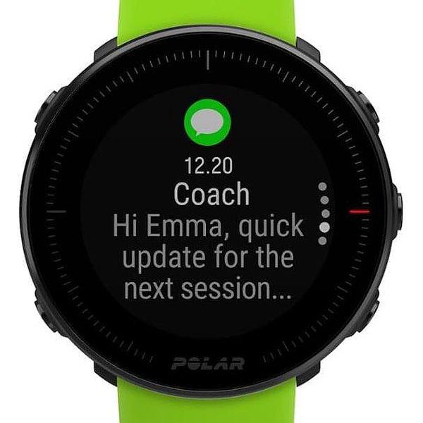 GPS hodinky Polar Vantage M - zelené, černý řemínek zdarma (90075954)3