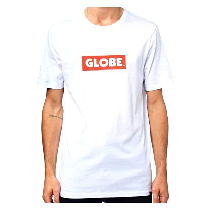 Tričko Globe Box white L