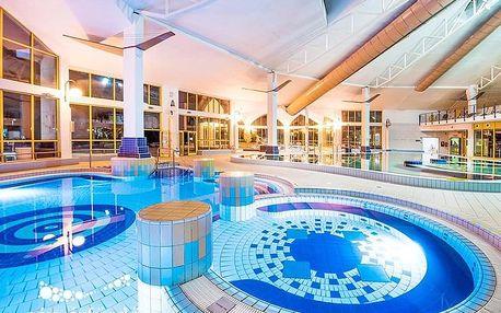 Sárvár ve 4* hotelu Park Inn s termály neomezeně a polopenzí
