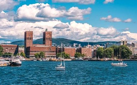 Norsko - Evropa kombinovaná doprava na 7 dnů, snídaně v ceně