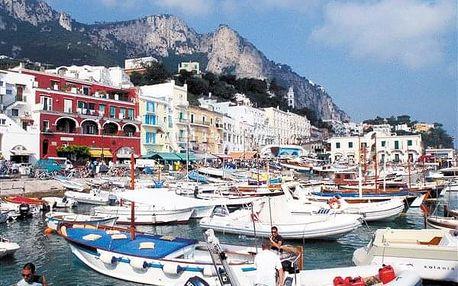Itálie - Ischia letecky na 8 dnů, strava dle programu