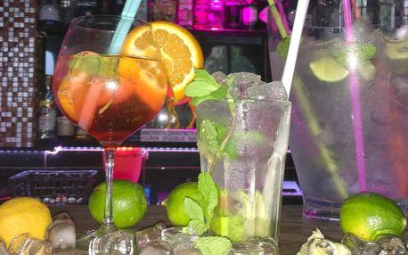 Letní drinky nebo kýbl Mojita či Cuba Libre