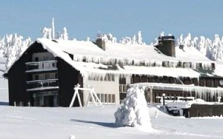 Levná zimní dovolená na vrcholcích Krkonoš