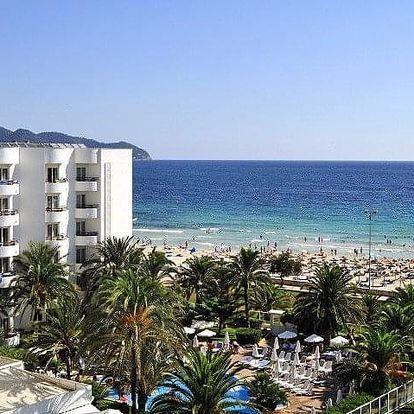 Španělsko - Mallorca na 8 dní, polopenze nebo snídaně s dopravou letecky z Brna