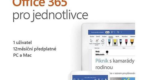 Software Microsoft Office 365 pro jednotlivce CZ (QQ2-00742)
