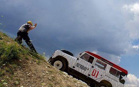 Land Rover off-road trénink - 4 hodiny