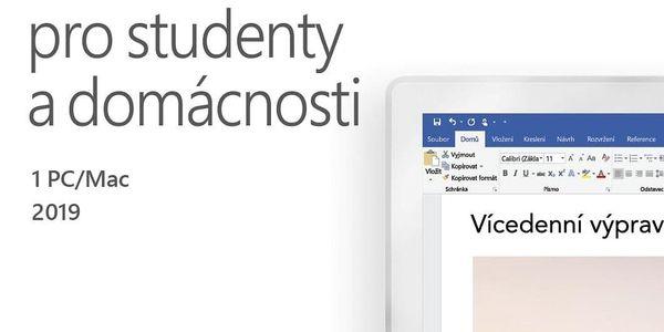 Software Microsoft Office 2019 pro studenty a domácnosti CZ (79G-05078) + DOPRAVA ZDARMA2