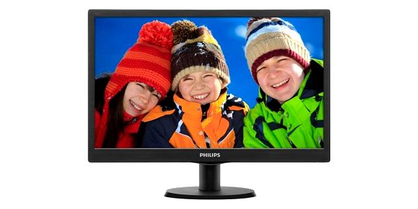 Monitor Philips 203V5LSB26 černý (203V5LSB26/10)