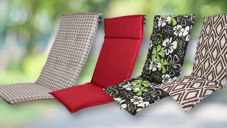 Podsedáky na zahradní židle a lehátka: 15 variant