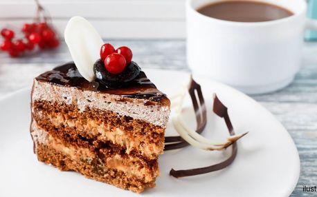 Espresso Nikaragua a dort dle výběru z denní nabídky