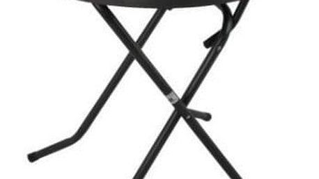 DAJAR PIZARRA CROSSED 3842 Kovový stůl ø 70 cm