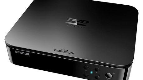 DVD přehrávač Sencor SDV 1204H černý