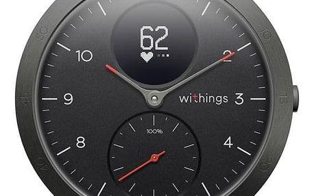 Chytré hodinky Withings Steel HR Sport černá (HWA03b-40black-sp)