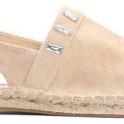 Dámské béžové sandály Maitra 8462