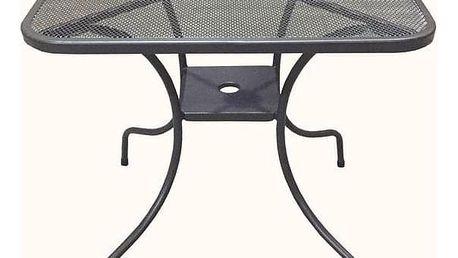 Tradgard ZWMT-60 54565 Zahradní kovový stůl - čtverec 60 x 60 cm