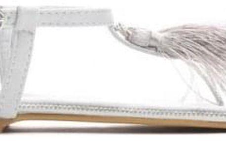 Dámské šedé sandály Yann 7263
