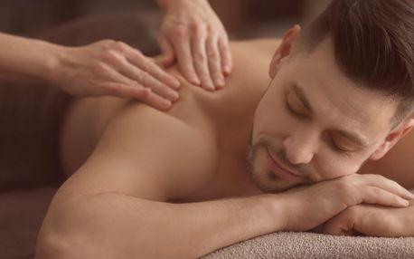 Hadí masáž pro muže: 70 minut thajské relaxace