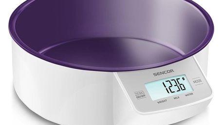 Sencor SKS 4004VT kuchyňská váha, fialová