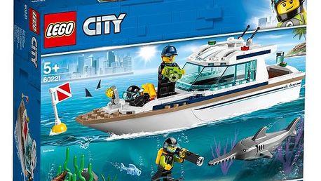 LEGO® City Great Vehicles 60221 Potápěčská jachta
