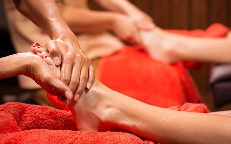 Reflexní masáž chodidel v Ban Thai