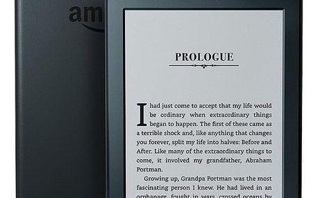 Čtečka e-knih Amazon Kindle 8 TOUCH Wi-Fi verze s reklamou černá (EBKAM1147)