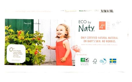 NATY NATURE BABYCARE 4+ MAXI+, 42 ks (9-20 kg) ECONOMY PACK - jednorázové pleny