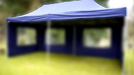 Garthen Náhradní střecha k party stanu 3 x 6 m, modrá