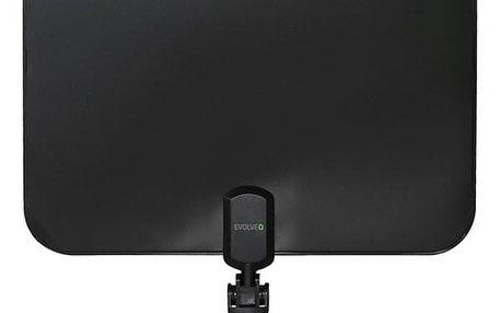Anténa pokojová Evolveo Xany 2C LTE 230/5V, 41dBi aktivní pokojová anténa DVB-T/T2, LTE filtr (tdexany2C)