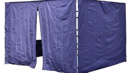 Garthen PROFI 30684 Sada 2 bočních stěn pro zahradní stan 3 x3 m modrá