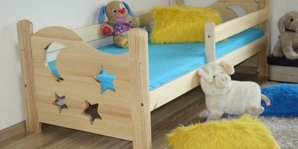Dětská postel SEWERYN 70 x 160 cm - bezbarvý2