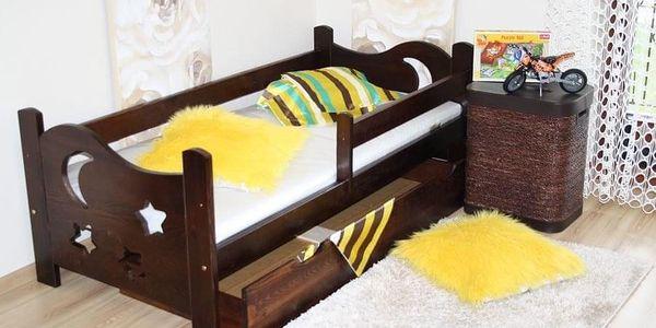 Dětská postel SEWERYN 70 x 160 cm - bezbarvý4