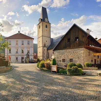 Závěr léta v hotelu U Martina u hradu Rožmberk se slavnostní večeří