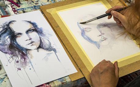 Víkendový kurz akvarelové malby pro 1–2 osoby