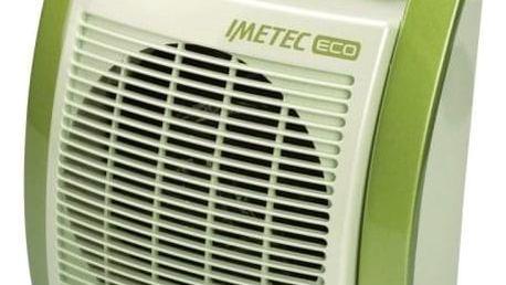 Teplovzdušný ventilátor Imetec 4926 zelený