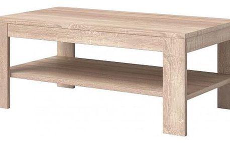 Konferenční stolek Nemesis (dub sonoma)
