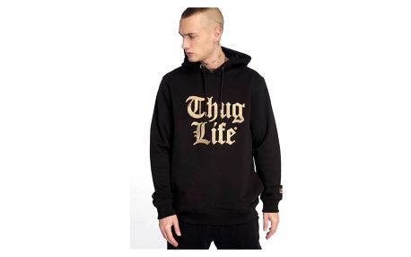Thug Life / Hoodie Tight in black 2XL