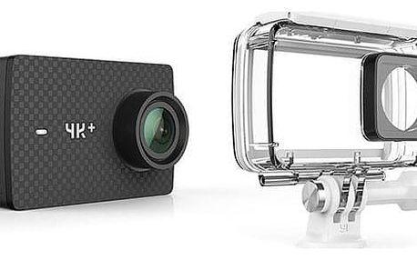 Outdoorová kamera YI Technology YI 4K+ Action + voděodolný kryt černá (AMI408)