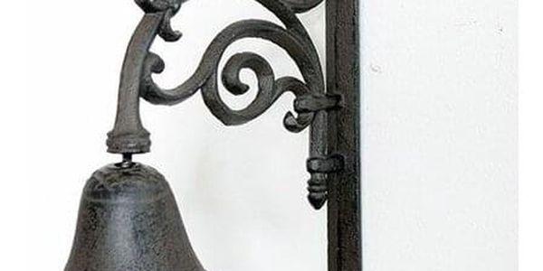 Litinový zvonek Paz, 25,5 x 20,5 x 10 cm