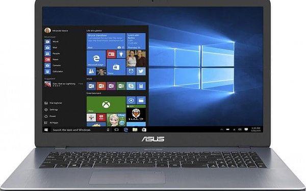 "Notebook ASUS VivoBook 17,3"" i3 4GB, SSD+HDD, X705UA-BX417T"