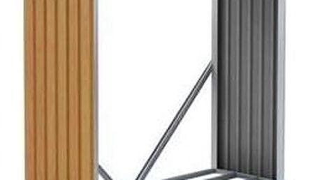 G21 WOH 136 Přístřešek na dřevo - 182 x 75 cm, hnědý