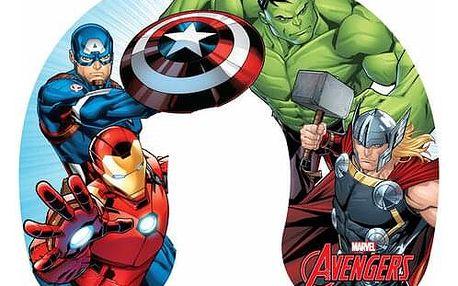 Jerry Fabrics Cestovní polštářek Avengers, 40 x 40 cm